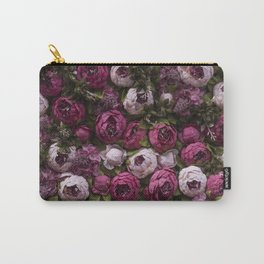 Dark and light pink peonies Carry-All Pouch