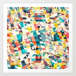 mosaic1 Art Print