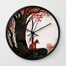 Fantastic Mr. Fox Doesn't Feel So Fantastic Anymore Wall Clock
