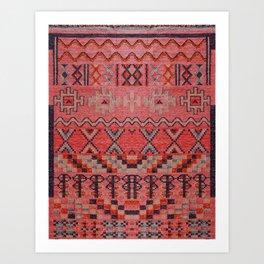 Oriental Berber Vintage Traditional Moroccan Style Art Print