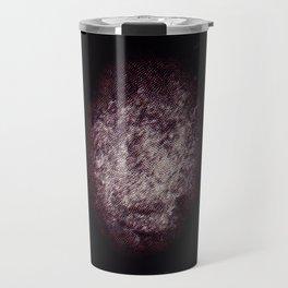 Rugby Ball Texture Travel Mug