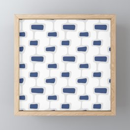 Mid Century Shapes 2 Framed Mini Art Print