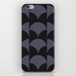 Cleo Pattern - Midnight iPhone Skin