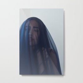Faith in our Mother Mary Metal Print