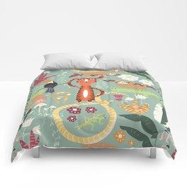 Rain forest animals 001 Comforters