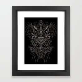 Crest Craft Black Framed Art Print