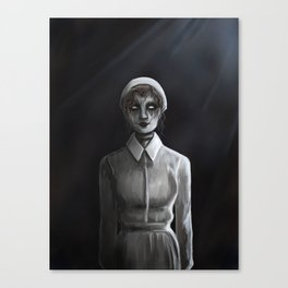 Ghost Nurse Canvas Print
