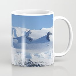 Ice on the Ellsworth Range in Antarctica as seen from the IceBridge DC-8 on Oct 22 2012 Coffee Mug