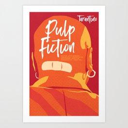 Quentin Tarantino's Plot Movers :: Pulp Fiction Art Print