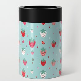 StrawberryPattern Can Cooler