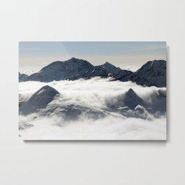 Mountain Peak Metal Print