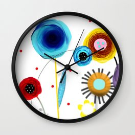 Show Me What I'm Looking For Wall Clock