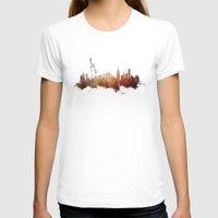 new york skyline T-shirts featuring New York City - skyline by jbjart