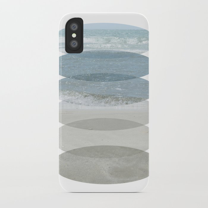 Beach Fragments iPhone Case