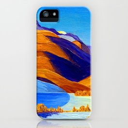 Rockwell Kent Vermont Study iPhone Case