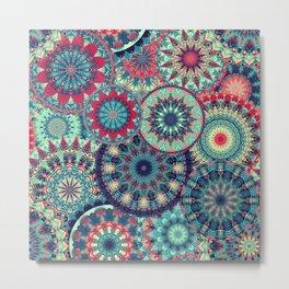 Mandala (Floral 001) Metal Print