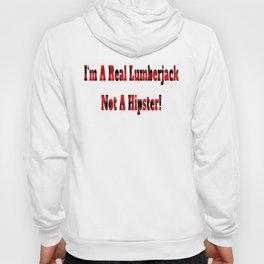 No Hipster – Lumberjack Quote Hoody