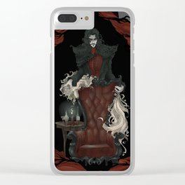 Tragically Ever After: Dracula Clear iPhone Case