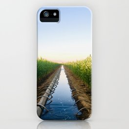 Thirsty Corn iPhone Case