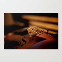 Strings Canvas Print