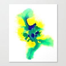 WATERCOLOR BRAZIL Canvas Print