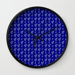 Symbol of Transgender 36 Wall Clock