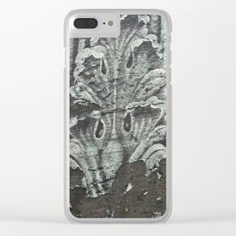 Acanthus in Gray Clear iPhone Case