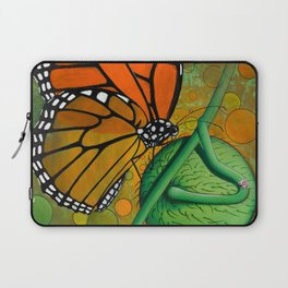 Monarch & Swan Plant Laptop Sleeve