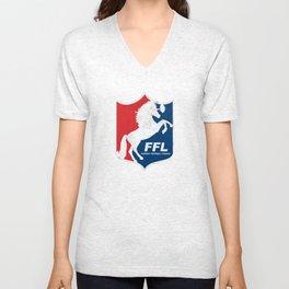 Fantasy Football League Unisex V-Neck