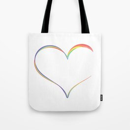 Heart Semicolon Art Mental Health Depression Suicide Prevention Awareness Gifts T-shirt Design Tote Bag