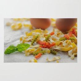 Coloful Pasta Creation Rug