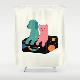 Travel More Shower Curtain