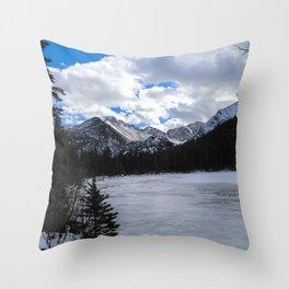 Bear Lake, Colorado Throw Pillow