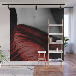 Female Form Black and White Photographic Print Wall Mural