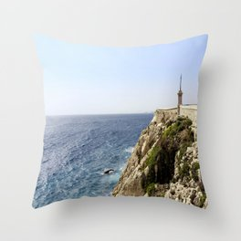 Sunday Seaside Nice Throw Pillow