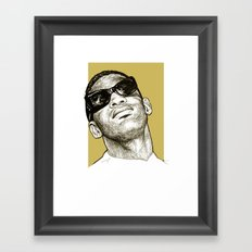 Ray Charles Framed Art Print