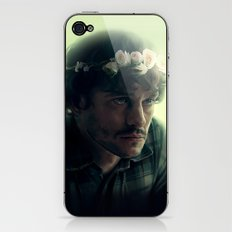 Will Graham - Flower Crown iPhone & iPod Skin