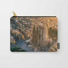 Scale of Sagrada Familia Carry-All Pouch