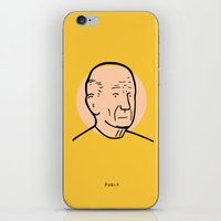 pablo picasso iPhone & iPod Skins featuring Pablo Picasso by Michael Constantine