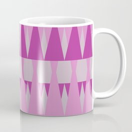 A Forest Pattern in Pinks Coffee Mug