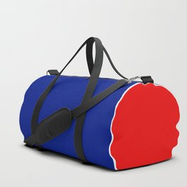 TEAM COLORS 10....RED, WHITE AND NAVY Duffle Bag