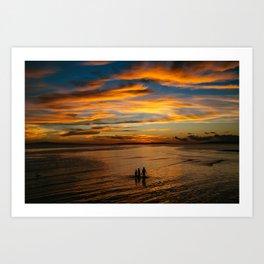 Philippine Sunset II Art Print