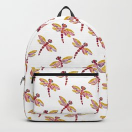 Dragonflies - Red Palette Backpack