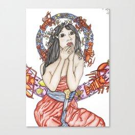 Mucha à la Baton Rouge Canvas Print