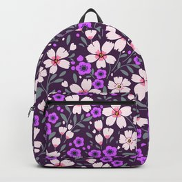 22 Pretty floral pattern. Backpack