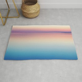 Rainbow Sunset Ocean Rug