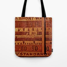 Radio Days Tote Bag