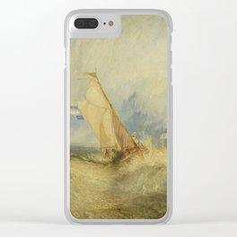 Van Tromp getting a good wetting Clear iPhone Case