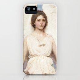 Angel, 1887 by Abbott Handerson Thayer iPhone Case