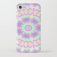 tree rings iPhone & iPod Cases featuring Tree Rings by Cosmic Lotus Tribe